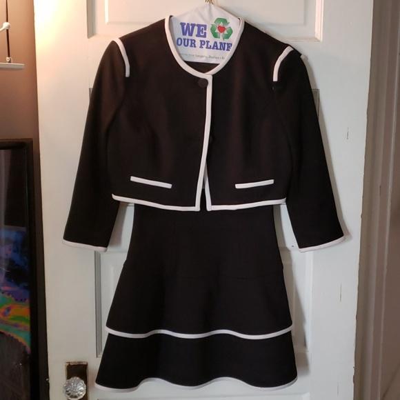 Forever 21 Dresses & Skirts - Forever 21 collection black white dress jacket S